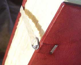 bookbinding tutorial clasps